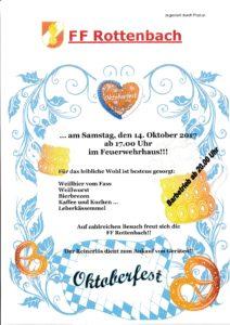 Oktoberfest FF Rottenbach